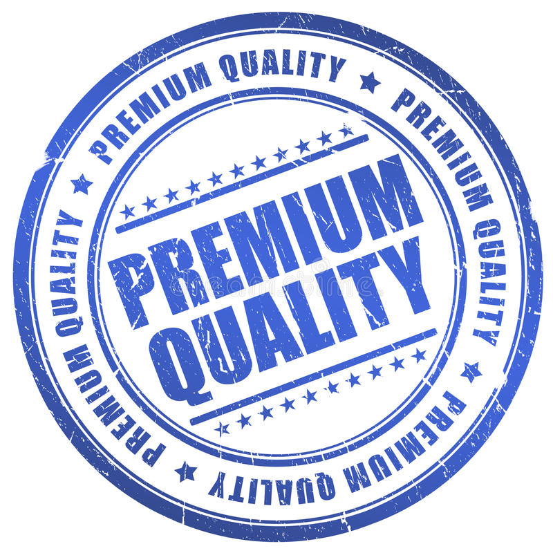 Erstklassige Qualität stock abbildung