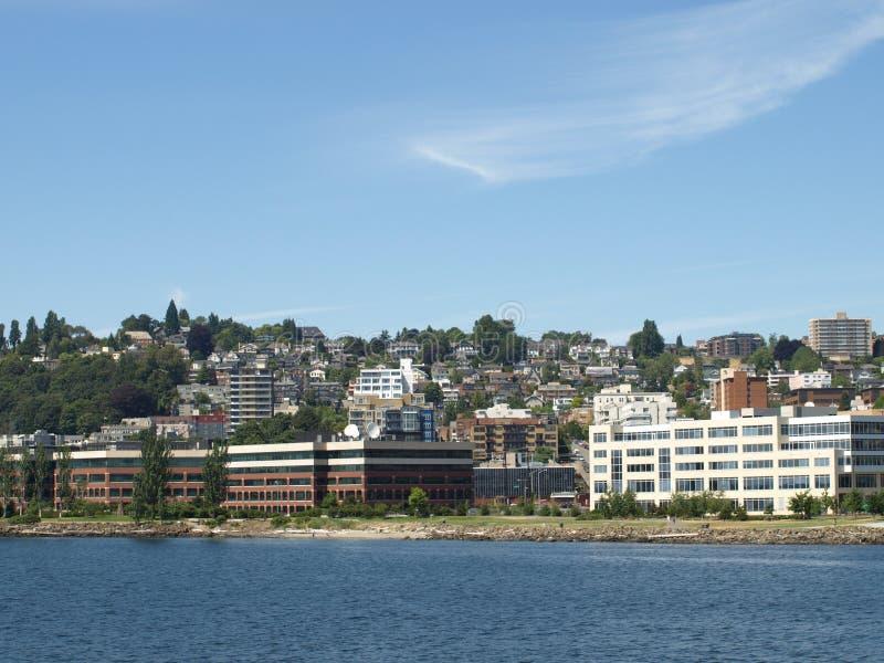 Erstklassiges Seattle-Eigentum lizenzfreie stockfotografie