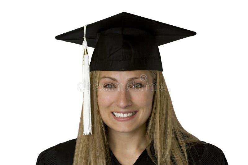 Erudito graduado (com trajeto) imagens de stock