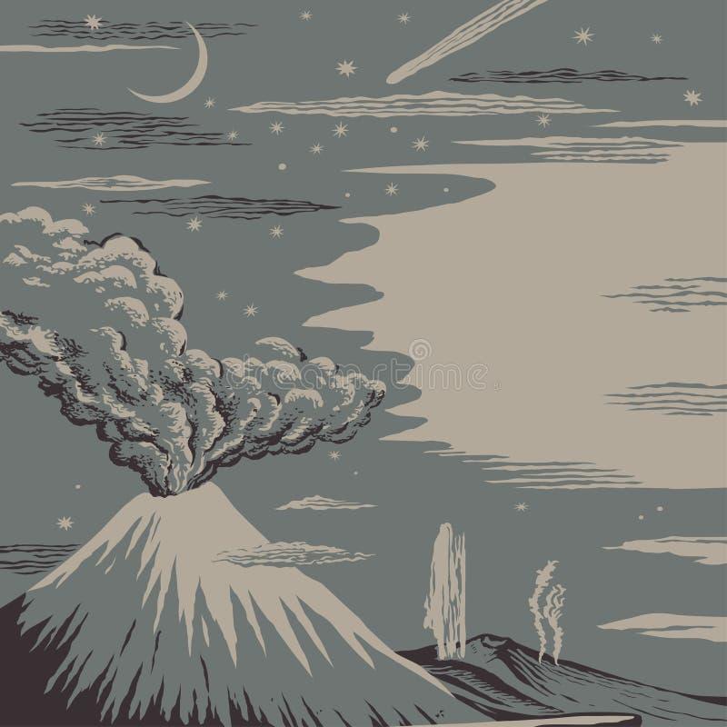 Erupción libre illustration
