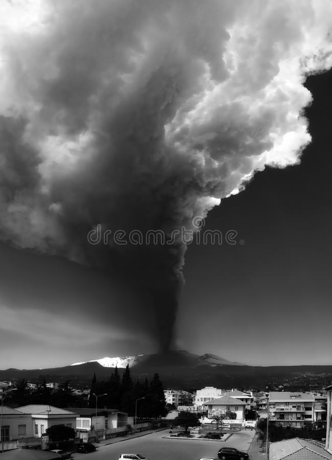 Download Eruption stock photo. Image of mount, italy, casting - 24626266