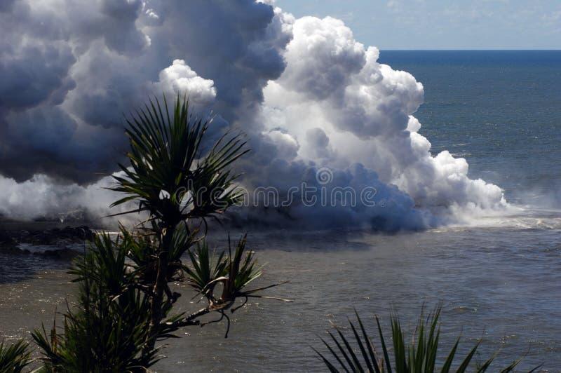 Eruption on Reunion island 11 stock photos