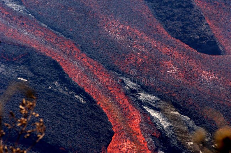 Eruzione su Reunion Island 10 immagini stock libere da diritti