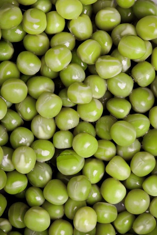 Ervilhas fervidas verde imagens de stock royalty free