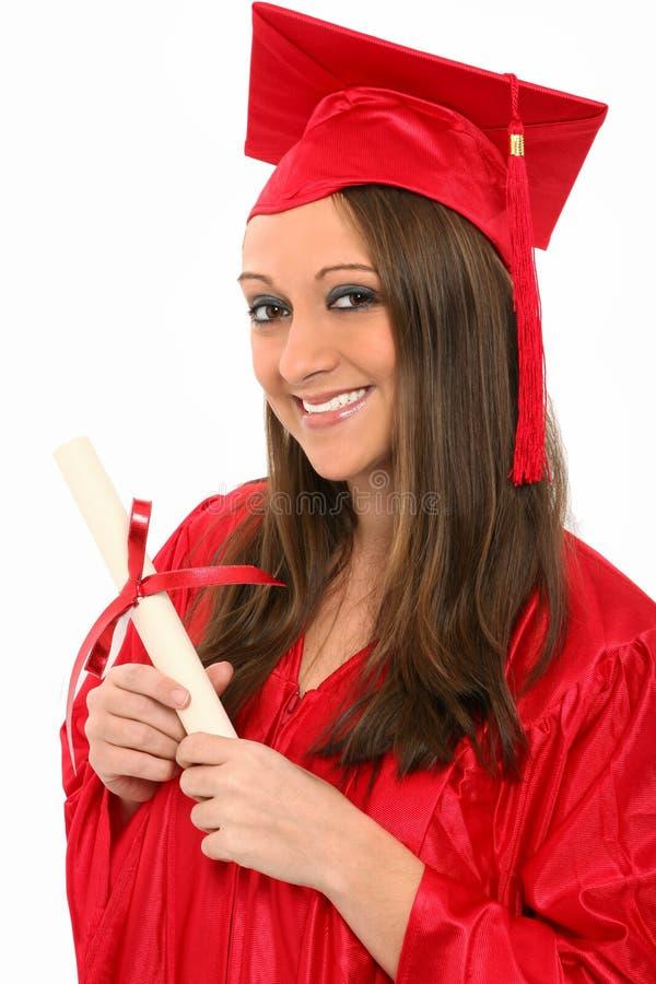 Erwachsenenbildung-Absolvent stockbild
