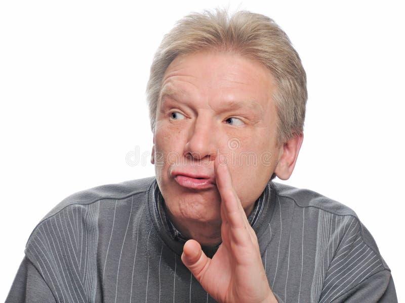 Erwachsener Mann stockfoto