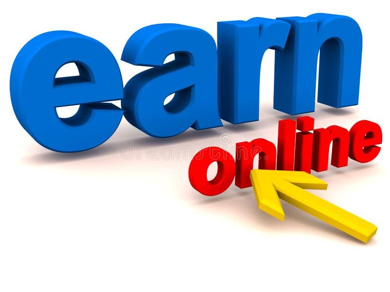 Erwerben Sie Das Onlinegeld, Das Konzept Bildet Lizenzfreie Stockfotos