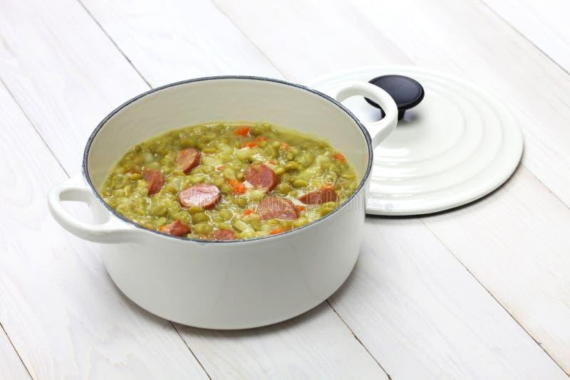 Erwtensoep, суп гороха стоковое фото rf