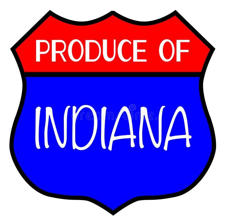 Erzeugnis von Indiana vektor abbildung