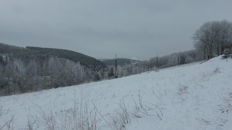 Erzgebirge stock afbeelding