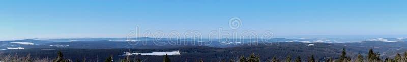Erzgebirge in Sassonia, Germania fotografia stock libera da diritti