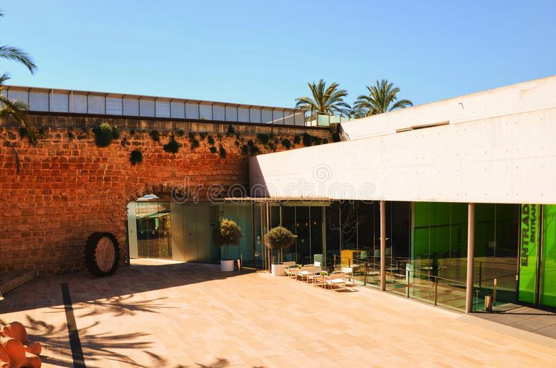 Es Baluard, Mallorca arkivbild