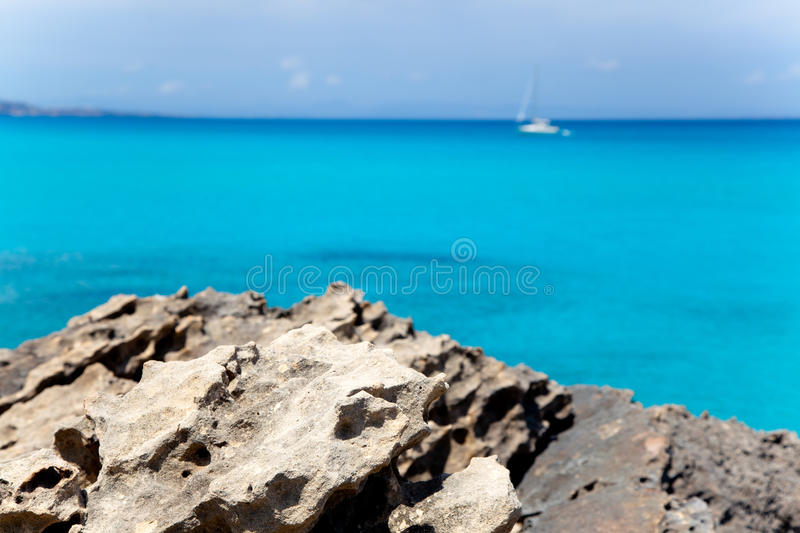 Download Es Calo De San Agusti In Formentera Balearic Stock Images - Image: 25411294
