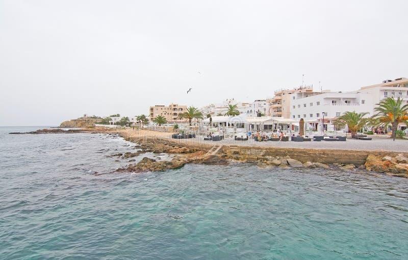 ES Canar口岸伊维萨岛 免版税库存图片
