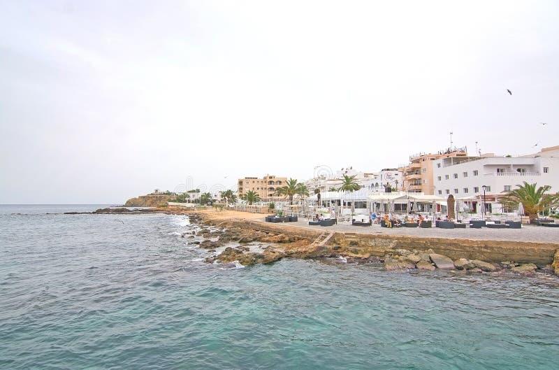 ES Canar口岸伊维萨岛 免版税库存照片
