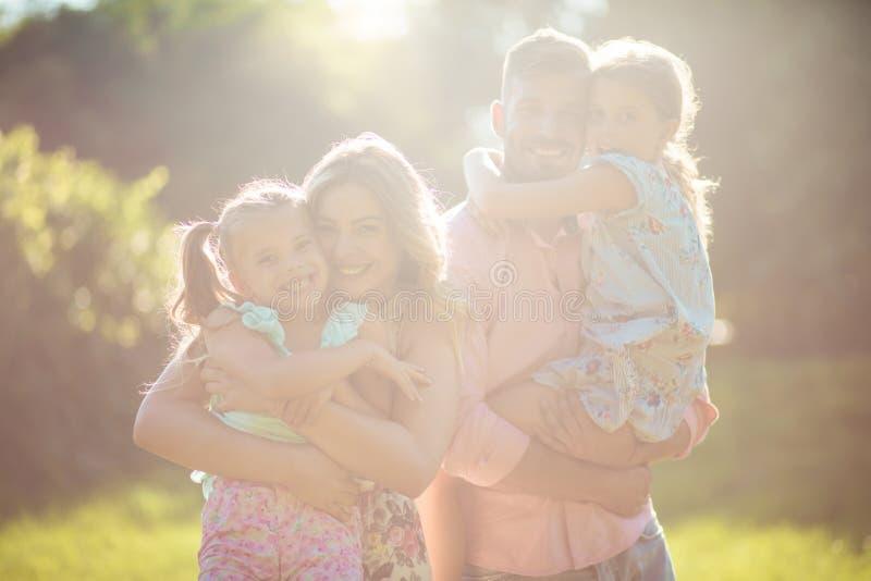 Es hora por tiempo de la calidad de la familia imagenes de archivo