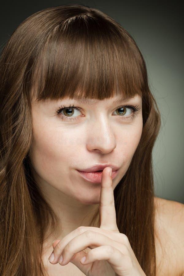 Es ist ein Geheimnis! lizenzfreie stockfotos