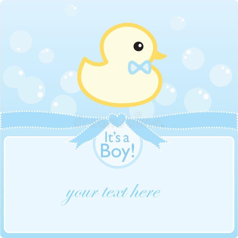 Es ist ein Junge! stock abbildung