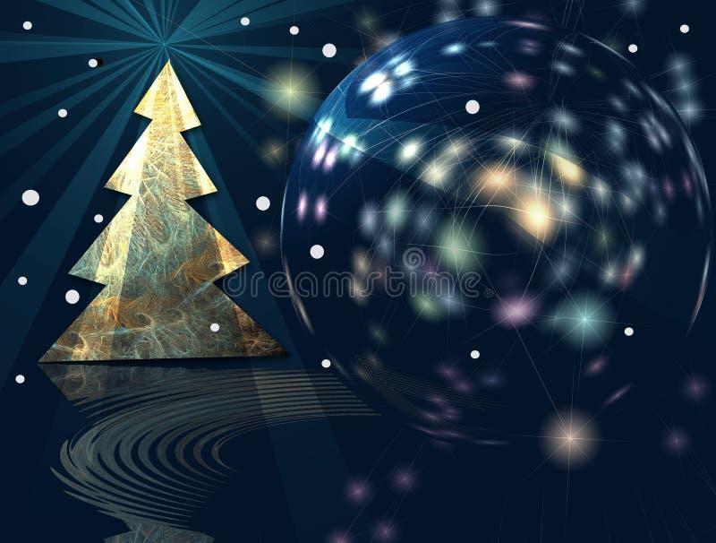 Es ist ein wundervolles Weihnachten! vektor abbildung