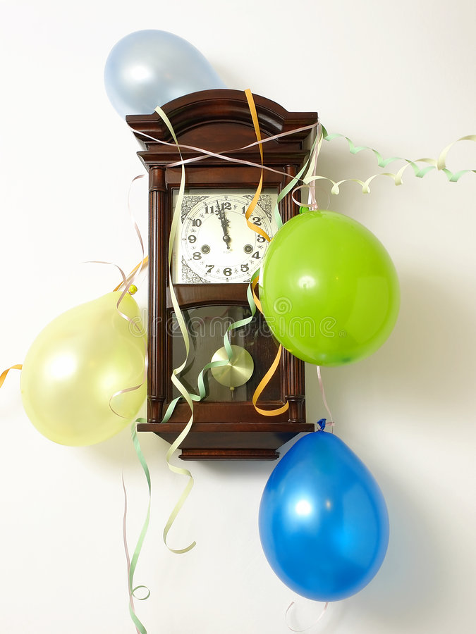 Es ist Tag des fast neuen Jahres stockfotografie