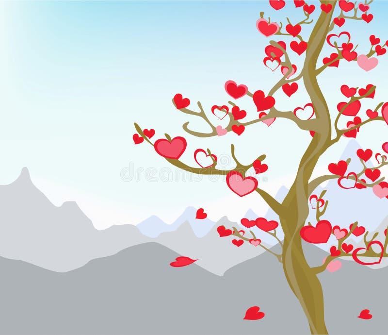Es ist Zeit der Liebe. vektor abbildung