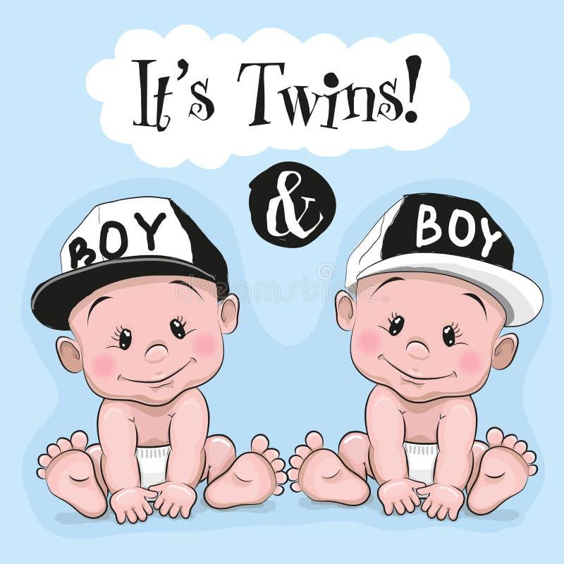 Es ist Zwillinge stock abbildung