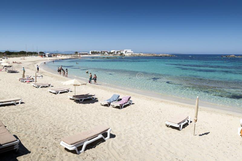 Es Pujols. Formentera royalty free stock images