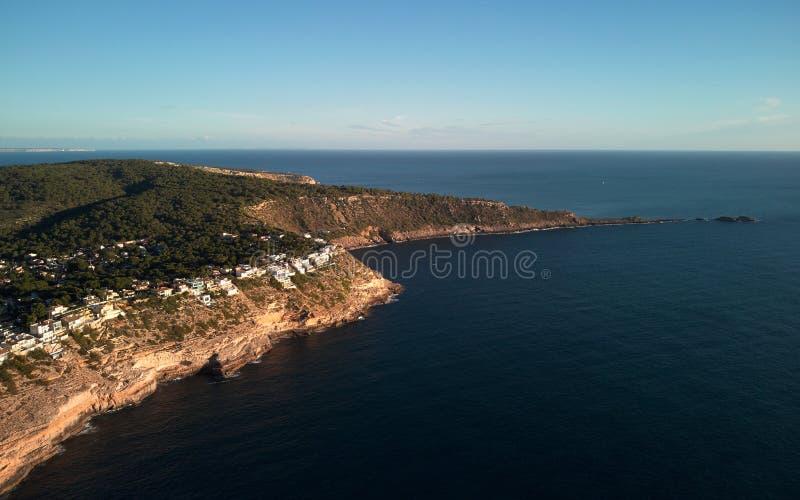ES Ribell,岩石海岸线陆间海 库存图片