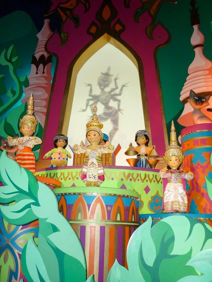 Es un pequeño mundo, muñecas la India imagen de archivo libre de regalías