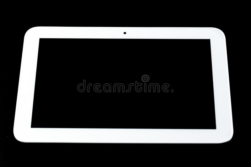 Dispositivo de entrada del ordenador de la tableta fotos de archivo libres de regalías