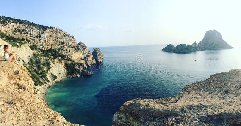 Es Vedra, Ibiza imagens de stock royalty free