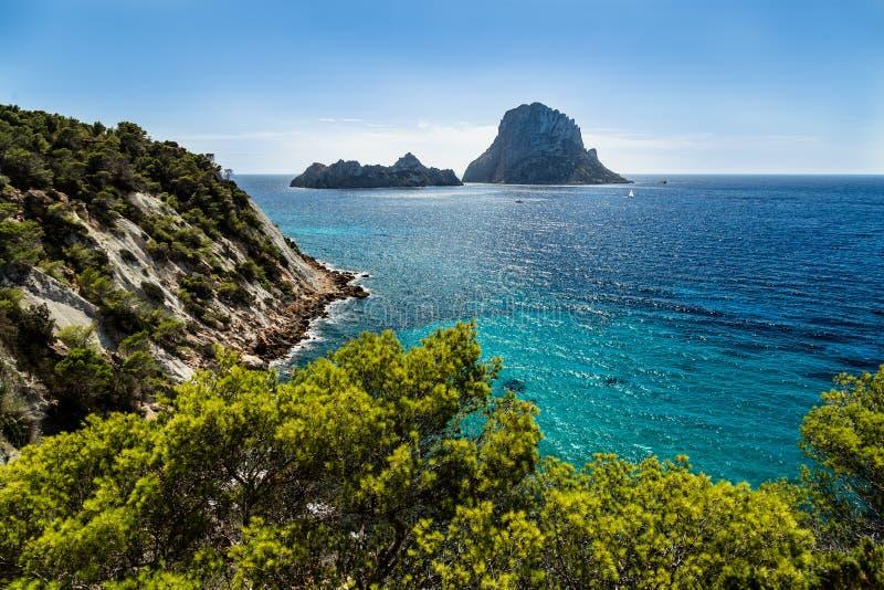 Es Vedra, Ibiza photographie stock libre de droits