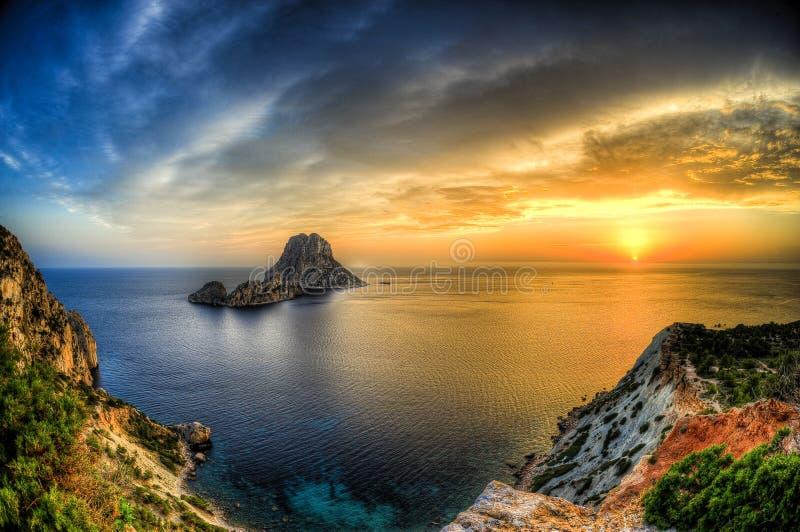 Es Vedra - Ibiza fotos de archivo