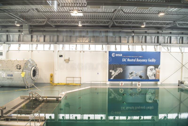 ESA -欧洲人Astronout中心 库存图片