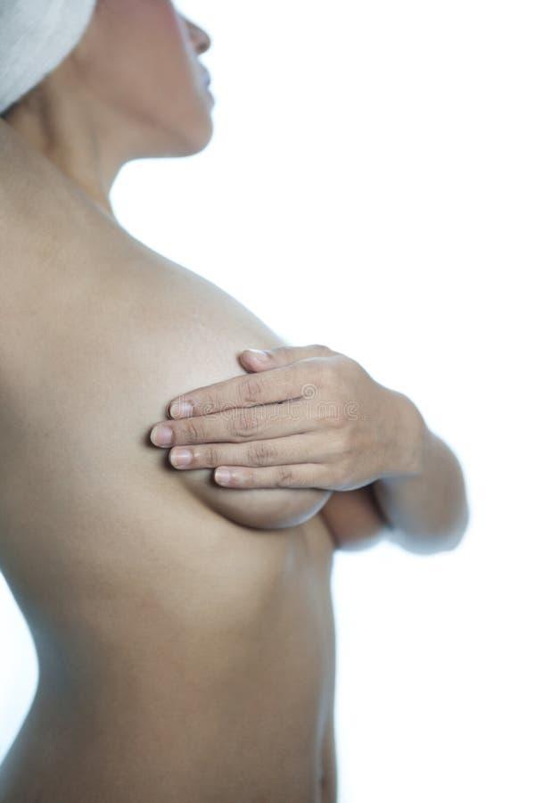 Esame 2 del cancro della mammella fotografie stock