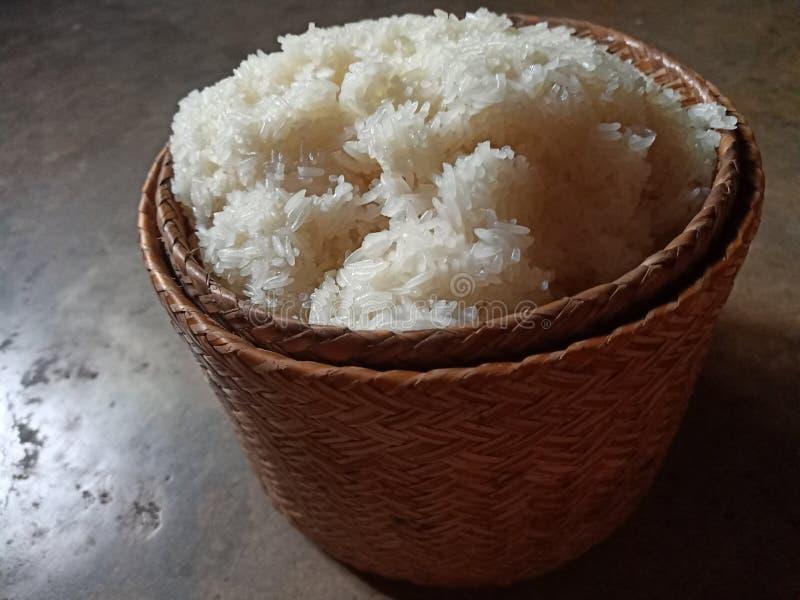 esarn thaïlandais de riz collant photos stock
