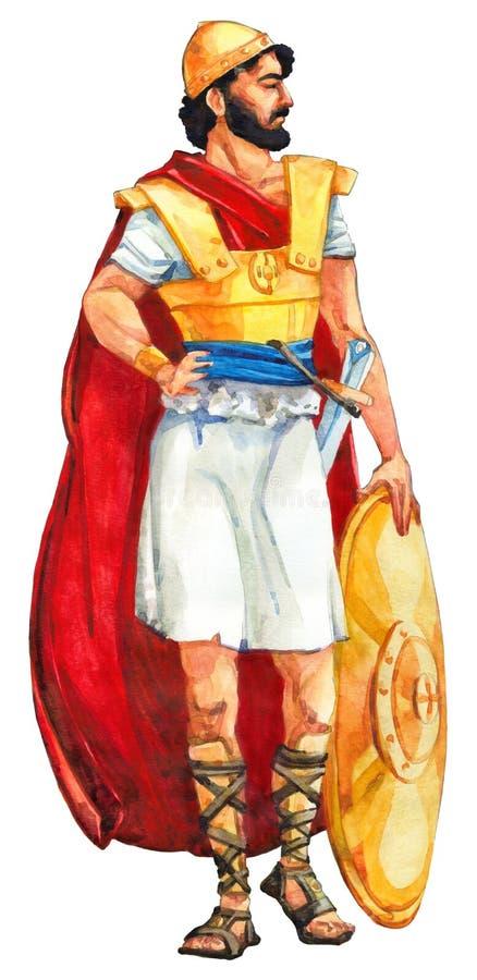 Esboço da aquarela da série ilustração stock