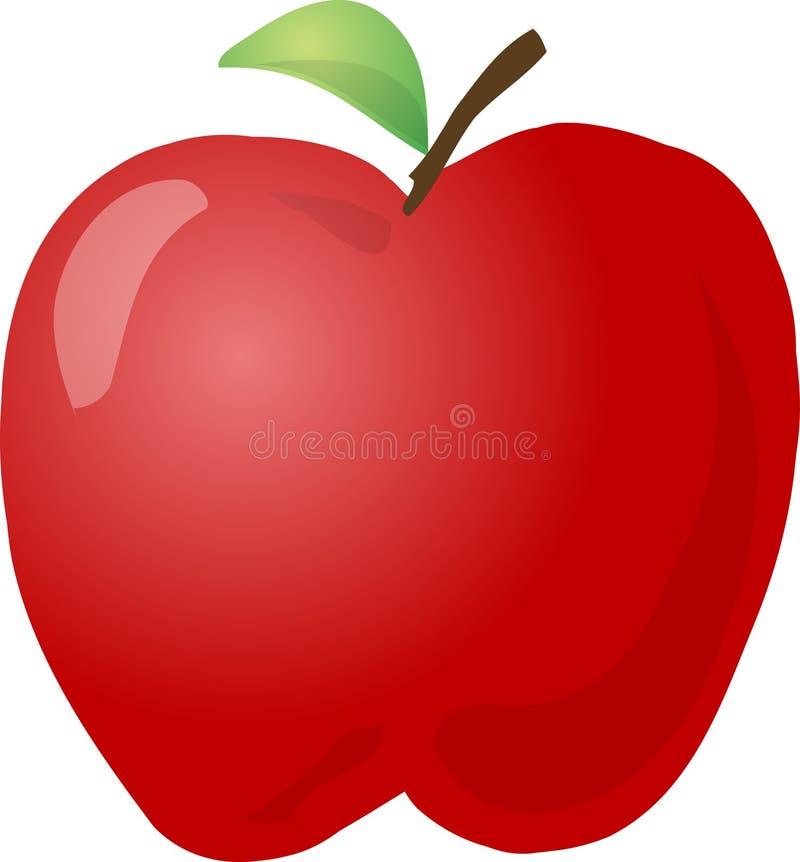 Esboço de Apple ilustração royalty free