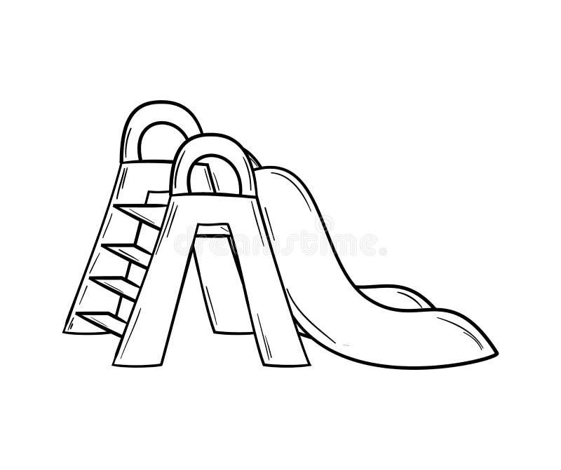 Esboço do slider ilustração do vetor