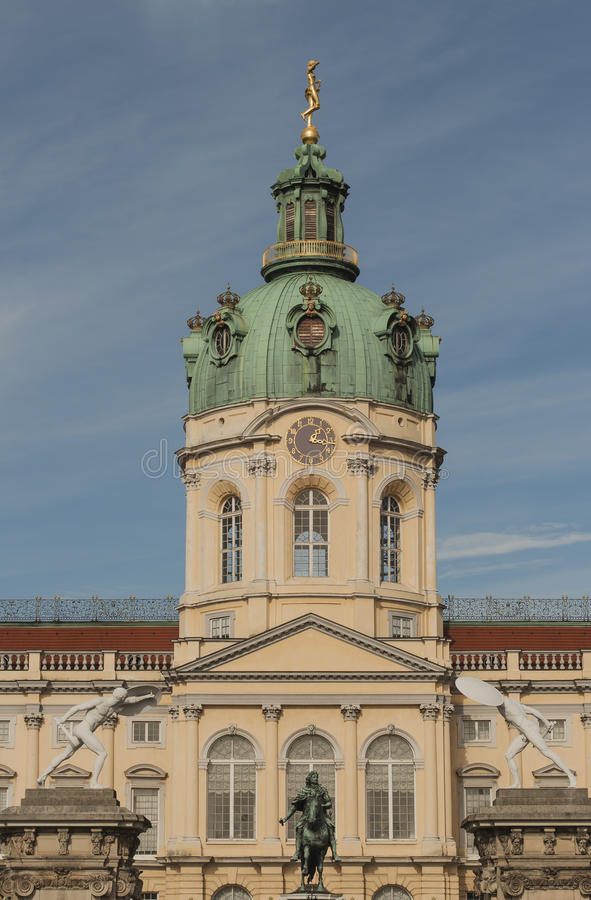 Escúdese Charlottenburg foto de archivo libre de regalías