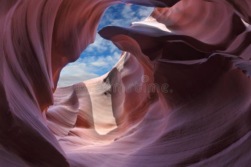 Esca il canyon della scanalatura fotografia stock