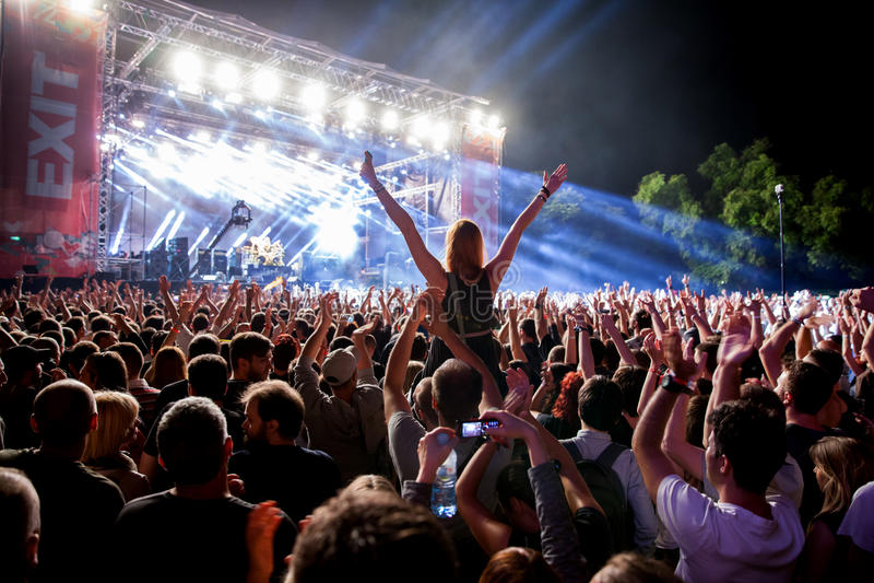 Esca il festival 2015 - fase principale immagini stock libere da diritti
