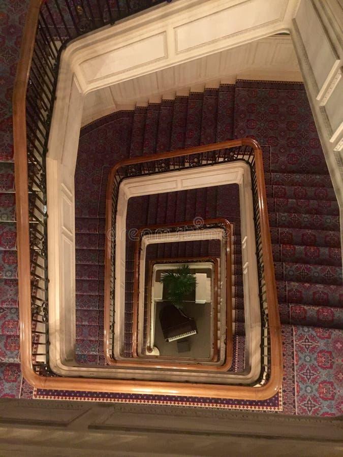 A escada fotografia de stock royalty free