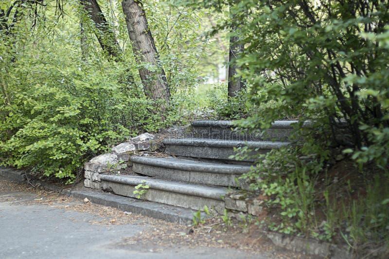 Escada abandonada imagens de stock royalty free