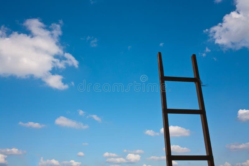 Escada ao céu fotos de stock royalty free