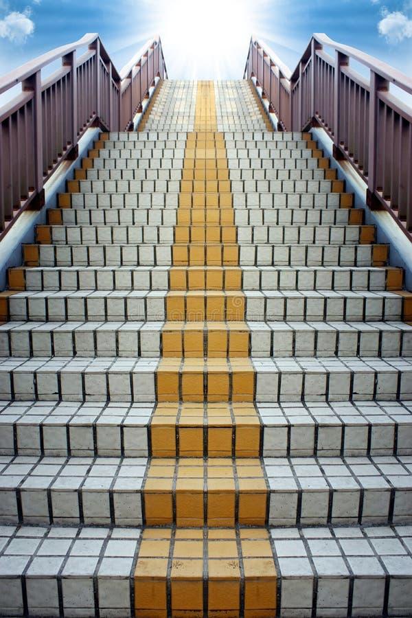 Escada ao sucesso ilustração do vetor
