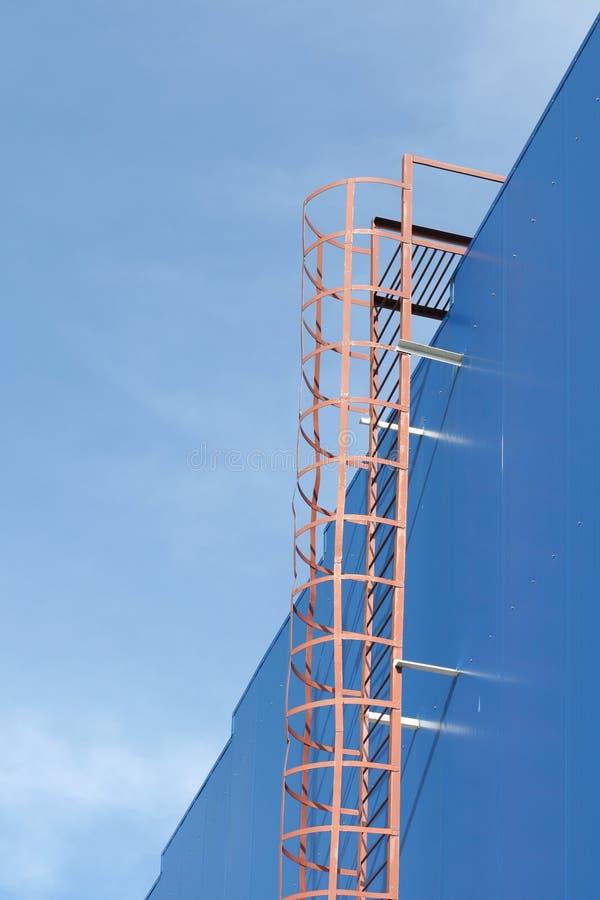 escada da Incêndio-prevenção imagens de stock royalty free