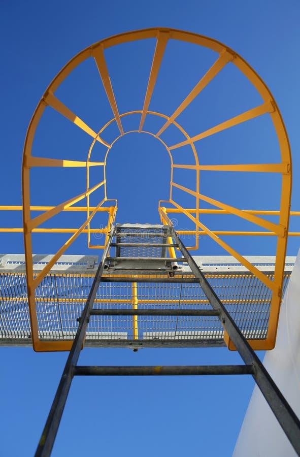 Escada da maquinaria fotos de stock royalty free