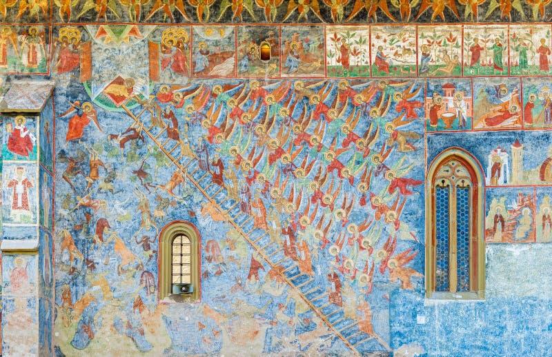 A escada da subida divina de John da escada ilustração do vetor