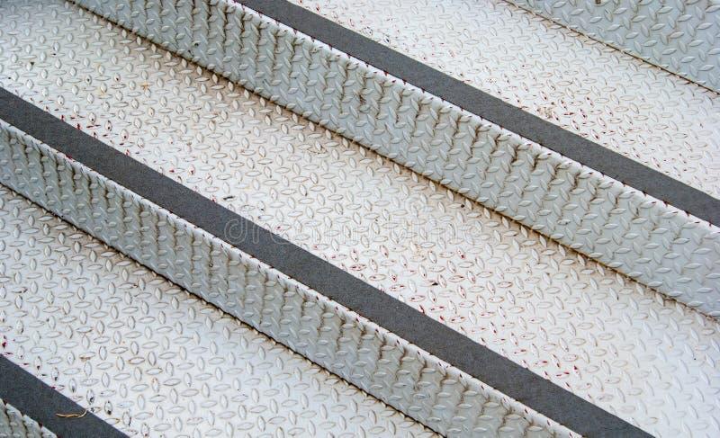 Escada de aço imagem de stock